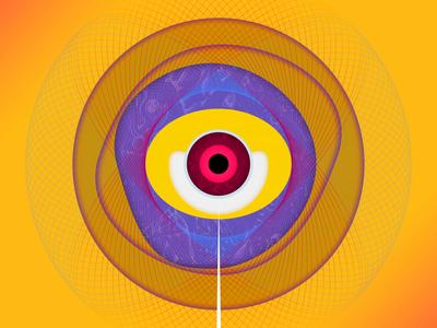 About Her third wave third eye triad effector design eyeball aftereffects animation dribbble photoshop