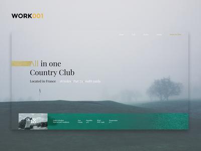 Golf Country Club Homepage