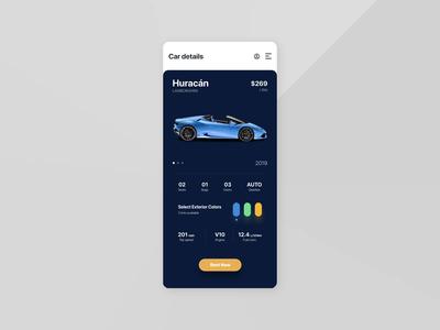 Car details UI