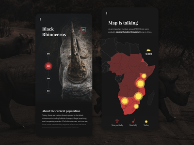 Rhino Map - Mobile App