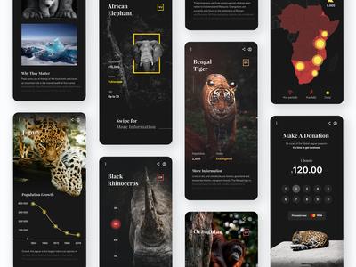 Threatened Species - Mobile App