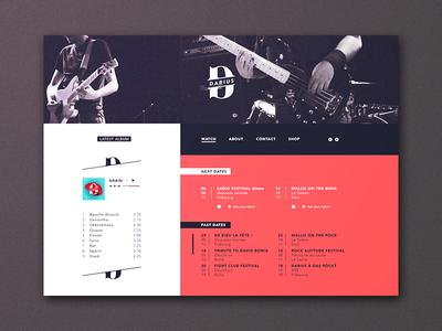 Darius webpage