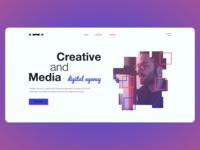 Digital agency. Concept