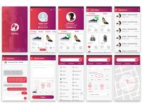 lalla shop UI
