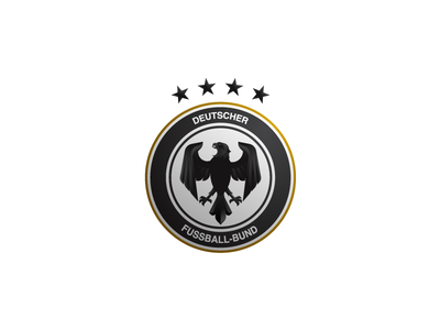 DFB redesign logo crest deutschland manschaft bundesliga deutscher fußball football soccer germany dfb