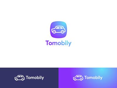 Tomobily sell logo buy app sale car