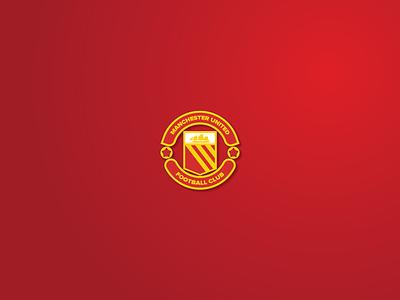 ManUtd 70' logo 70 redesign club football epl united manchester united manchester man utd