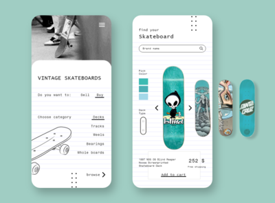App - Vintage Skateboards E-shop