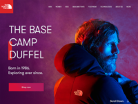 North Face Landing Page