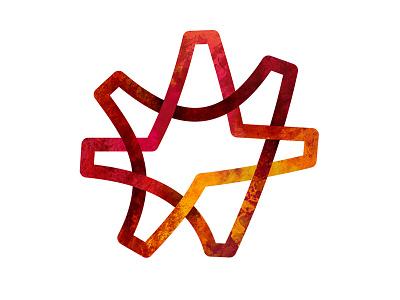 Adaris Canarias Logo star texturized logo