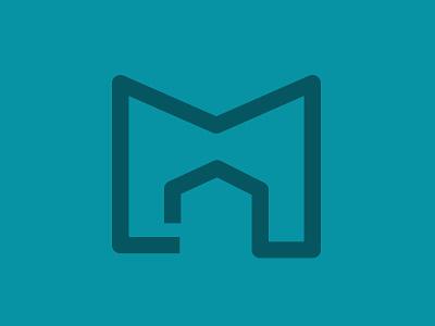 Milestone Homes Logo logo symbol home