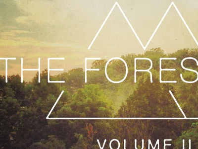 The Foresters Volume II album cover cd artwork trees foresters helvetica neue