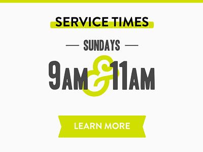 Service Times web ui button ribbon brandon
