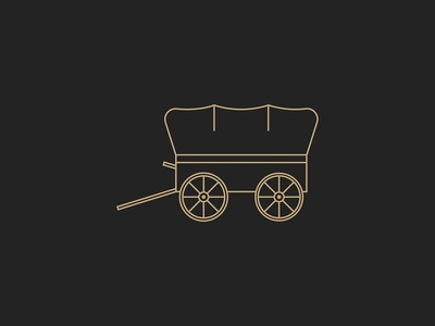 Wagon Icon old west covered icon wagon history
