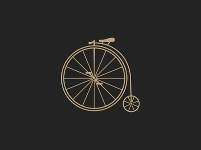 Penny Farthing old history icon penny farthing bike bicycle