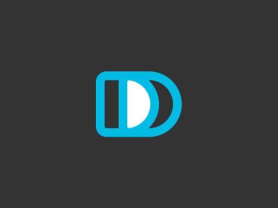 Double Logo type blue double dd d