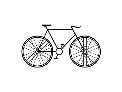 Bicycle icon illustration symbol logo bike cycle bicycle