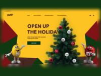 M&M's Christmas Web Shop