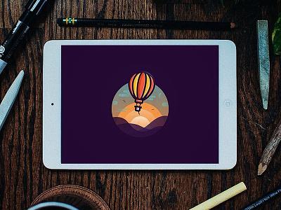 Wallpaper Wednesday free download wallpaper vector hot air balloon illustration workhorse