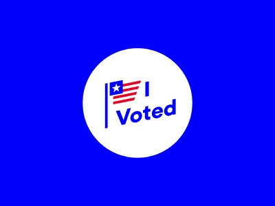 I voted! go vote illustration get out the vote voted vote