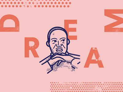 Martin Luther King Jr martin luther king portrait illustration mlk