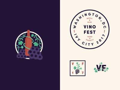 VinoFest Branding