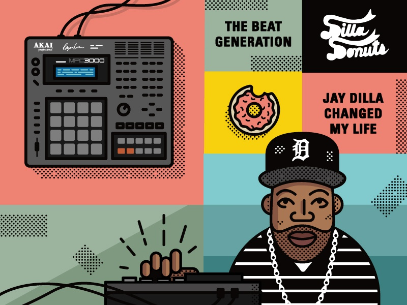 J Dilla + Smithsonian by Greg Fisk on Dribbble