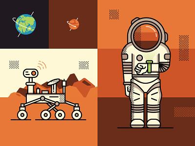 Mars Time mars illustration smithsonian