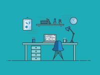 Designer Desk Environment