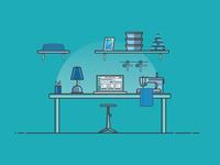 Tailor Desk Environment