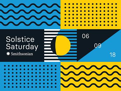 Summer Solstice Pattern extensions logo branding