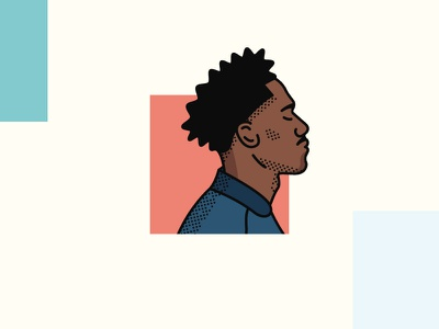 Portrait portrait profile illustration
