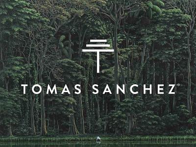 Tomás Sánchez personal branding artist art identity branding design logo