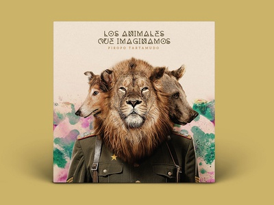 Los Animales que imaginamos design album cover music