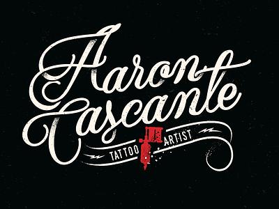 Aaron Cascante Tattoo Artist costa rica branding logo ink tattoo