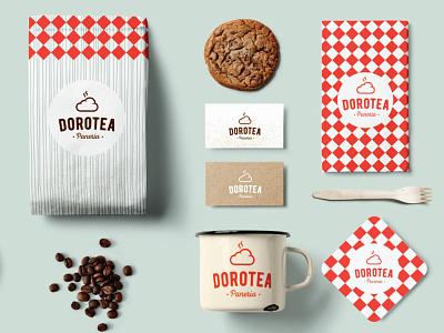 Dorotea bakery design logo branding