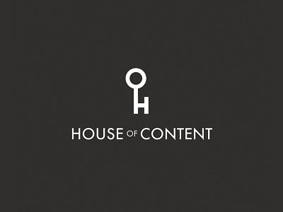 House of Content branding creative logo content