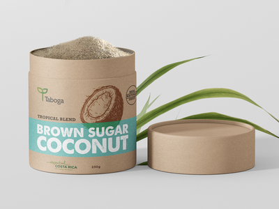 Taboga Tropical Blend Sugar label packaging costa rica blend sugarcane comodity sugar