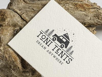 Toni Tents costa rica branding logo camping