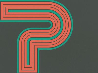 36 Days of Type - P illustration vector 36days-p 36daysoftype type design typography type