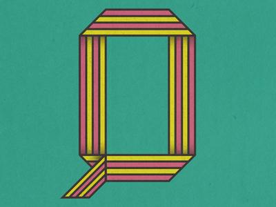 36 Days of Type - Q illustration vector 36days-q 36daysoftype type design typography type