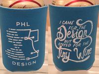 PHL Design Koozies