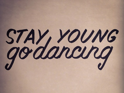 Music Monday No. 7 • Death Cab for Cutie - Stay Young Go Dancing
