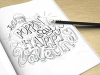 Happy Valentine 2014 Sketch
