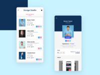 Designer Community app design