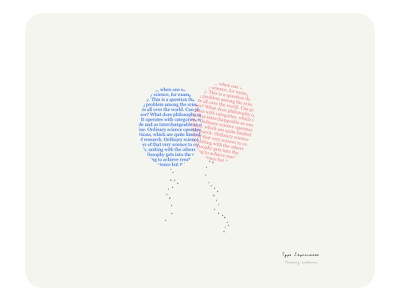 No strings attached balloons concept typography