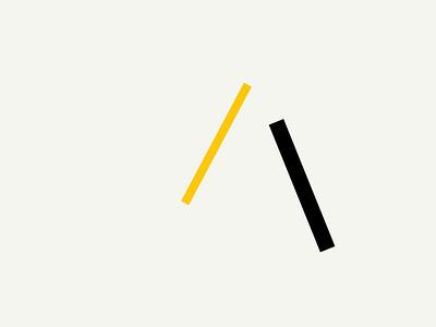 Bars in motion No. 8 design concept minimal flat color ui