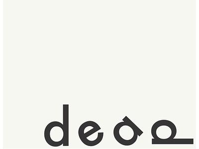Typogram No. 4 typogram futura typography concept