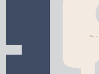 Georgia Numerals minimal georgia typography ui