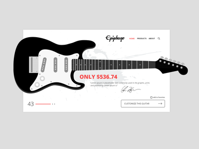 epiphone concept design branding